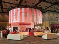 Lighting/Plexiglass Social Media Lounge - Chicago Illinois
